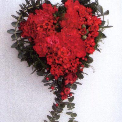 Wieńce w kształcie serca
