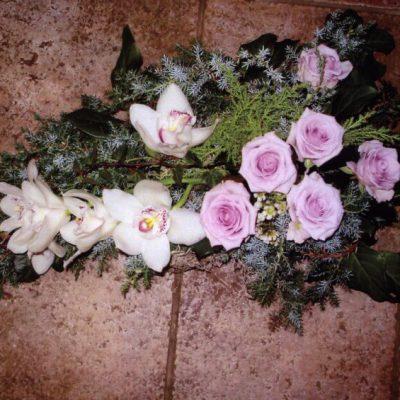 róże na pogrzeb