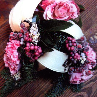 wiązanka różowa