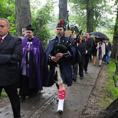 uroczysty pogrzeb
